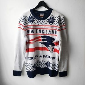 Junk Food Clothing Sweaters - Junk Food NFL Football England Patriots  Sweater 5dfb783c9